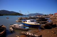 Port d'Hellville, Nosy be, Madagascar, photo HDR